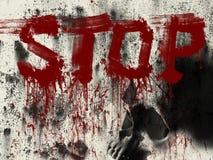 Pare a guerra Foto de Stock