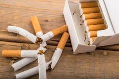 Pare a imagem anti-fumaça rendida Smoking fotografia de stock