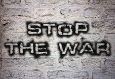 Pare la guerra imágenes de archivo libres de regalías