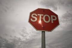 Pare la muestra Imagen de archivo libre de regalías
