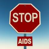 Pare las ayudas Imagen de archivo libre de regalías