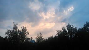 Pare nuvens Fotografia de Stock Royalty Free