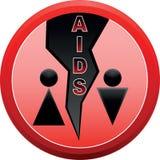Pare o AIDS. ilustração stock