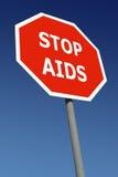 Pare o AIDS imagens de stock