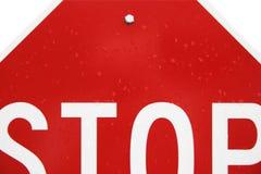 Pare o conceito do sinal Fotos de Stock Royalty Free