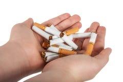 Pare o fumo Foto de Stock