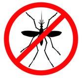 Pare o mosquito Imagem de Stock