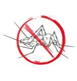 Pare o mosquito Fotos de Stock