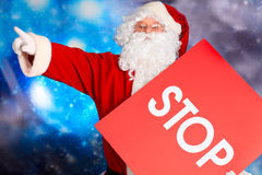 Pare o Natal fotos de stock
