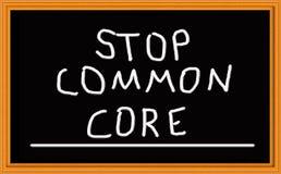 Pare o núcleo comum no quadro Imagens de Stock