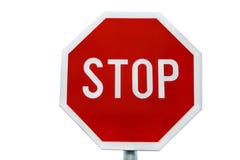 Pare o sinal de tráfego Fotografia de Stock Royalty Free