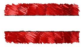 Pare o vídeo colorido patriótico nacional tirado marcador do símbolo da qualidade nova do fundo da animação dos desenhos animados ilustração stock