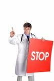 Pare o vírus Imagem de Stock