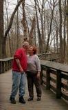 Pare para un beso Foto de archivo libre de regalías