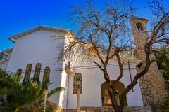 Pare Pere Hermitage en Denia en Alicante fotografía de archivo