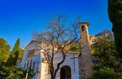 Pare Pere Hermitage en Denia en Alicante fotos de archivo