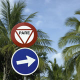 Pare sign Stock Photos