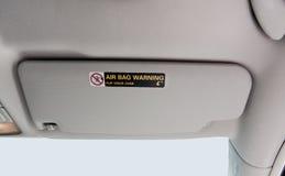 Pare-soleil de voiture images stock