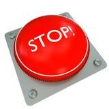 Pare a tecla imagens de stock