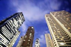Grattacieli di Tokyo Fotografia Stock
