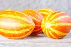 Parecchi meloni dell'ananas Immagine Stock