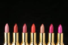 Parecchi rossetti per compongono Fotografia Stock