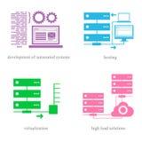 Parecchie direzioni nella sfera 1 dell'IT Illustrazione di Stock