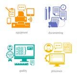Parecchie direzioni nella sfera 2 dell'IT Royalty Illustrazione gratis
