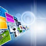 Parecchie immagini Fotografia Stock