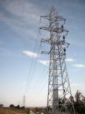 Parecchie linee elettriche Immagini Stock Libere da Diritti