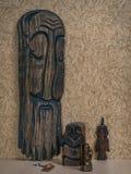 Parecchie statuette degli anziani Fotografie Stock Libere da Diritti
