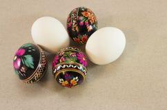 Parecchie uova di Pasqua Fotografie Stock