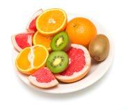 Parecchio frutta tropicale Fotografie Stock Libere da Diritti