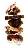 Parecchio genere di comporre del pane Fotografie Stock