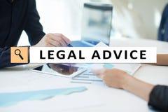 Parecer jurídico ext na tela virtual consultar Advogado na lei advogado, conceito do negócio e da finança imagens de stock royalty free