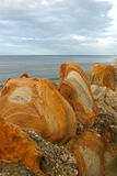 Paredão rochosa 2 Imagem de Stock