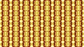 Pared abstracta de luces metrajes