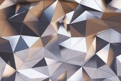 Pared abstracta del metal Foto de archivo libre de regalías