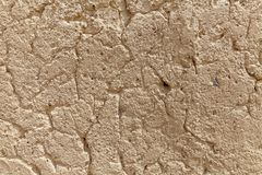 Pared agrietada del cemento, fondo industrial Foto de archivo