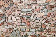 Pared alineada con la piedra imagen de archivo libre de regalías