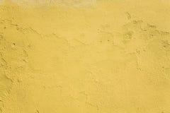 Pared amarilla Imagen de archivo libre de regalías