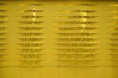 Pared amarilla Imagenes de archivo