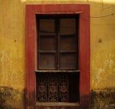 Pared amarilla 3 Foto de archivo libre de regalías