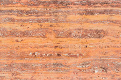 pared amarilla del cemento del grunge Imagen de archivo