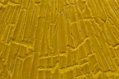 Pared amarilla del fondo Imágenes de archivo libres de regalías