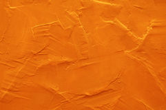 Pared anaranjada Fotografía de archivo