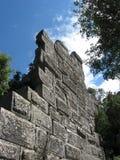 Pared antigua arruinada, ciudad antigua de Termessos Fotos de archivo libres de regalías