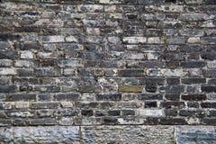 Pared antigua china de la ciudad Foto de archivo libre de regalías