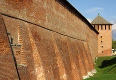 Pared antigua de Kremlin Fotos de archivo