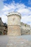 Pared antigua del castillo Imagen de archivo libre de regalías